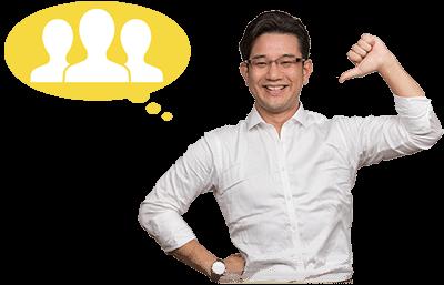 株式会社オレコン代表取締役山本琢磨、笑顔の写真